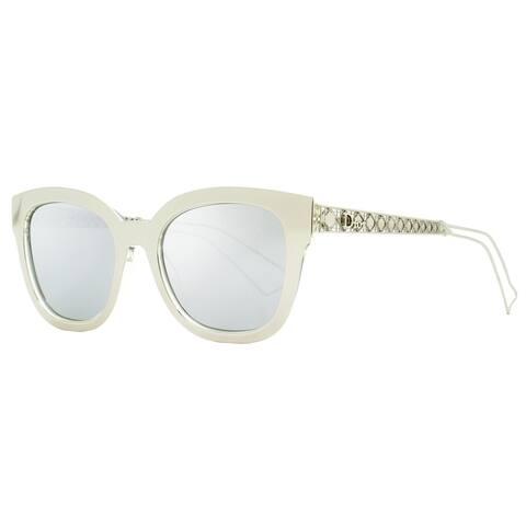 Dior Diorama 1 TGUDC Womens Silver/Crystal 52 mm Sunglasses