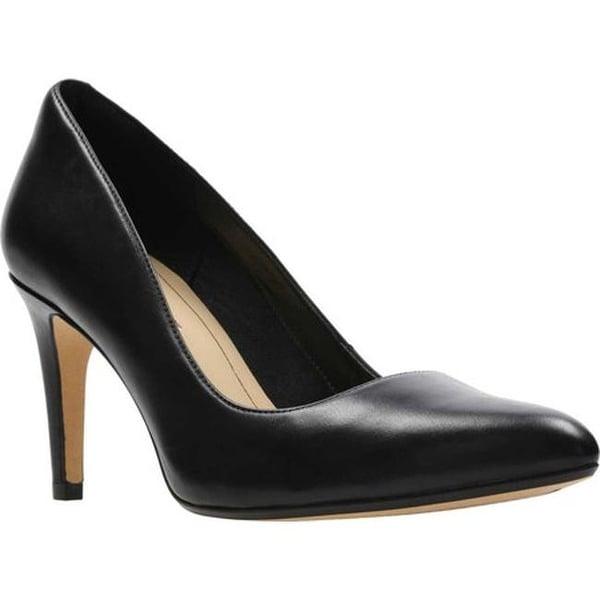 Laina Rae Stiletto Pump Black Leather
