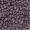 Toho Round Seed Beads 8/0 52F 'Opaque Frosted Lavender' 8 Gram Tube - Thumbnail 0