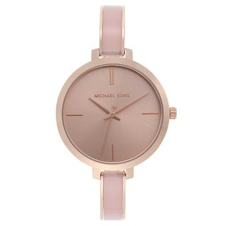 Link to Michael Kors Women's MK4343 Jaryn Rose Gold Stainless Steel Watch Similar Items in Women's Watches