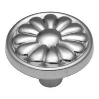 "Hickory Hardware P518 Newport 1-1/4"" Diameter Mushroom Cabinet Knob - Satin Cloud - N/A"