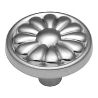Hickory Hardware P518 Newport 1-1/4 Inch Diameter Mushroom Cabinet Knob - satin cloud