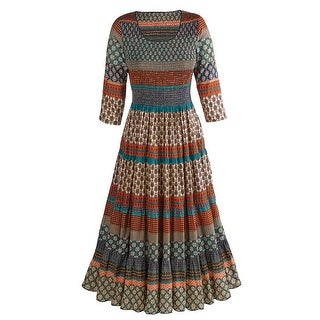 Women's Mohave Desert Dress - Long Maxi Dress