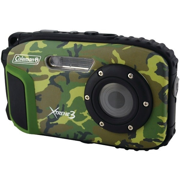 COLEMAN C9WP-CAMO 20.0-Megapixel Xtreme3 HD Video Waterproof Digital Camera (Camo)
