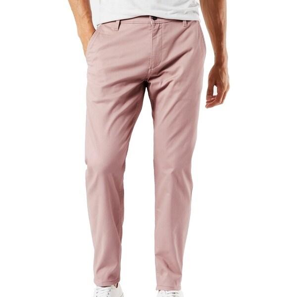 Dockers Men's Pants Mauve Pink Size 38X30 Slim Fit Alpha Khakis Stretch. Opens flyout.