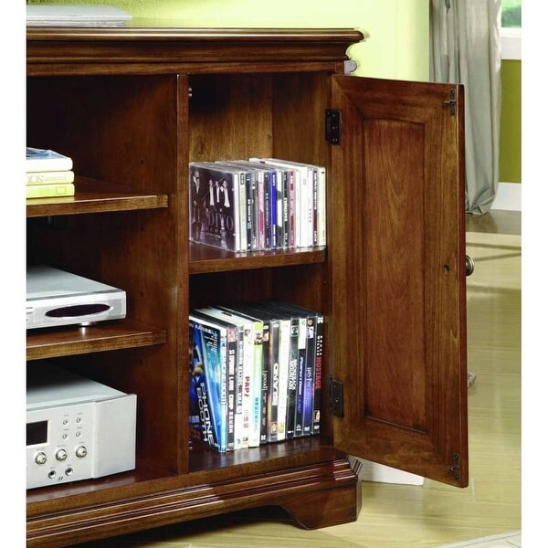 Exceptionnel Hooker Furniture 281 55 488 48 Inch Wide Hardwood Media Cabinet From The  Brookha