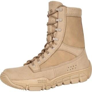 """Rocky Work Boots Mens 8"""" C5C Commercial Lightweight Desert Tan RKYC003"""
