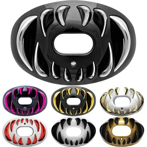 Battle Sports Science 3D Predator Oxygen Lip Protector Mouthguard - One Size