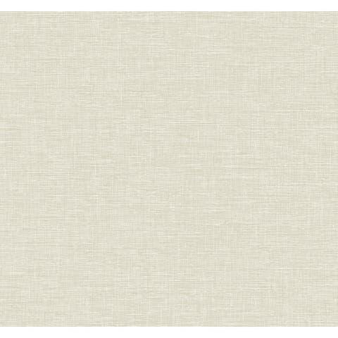 Seabrook Designs Linen Weave Unpasted Wallpaper