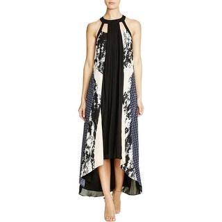 Adelyn Rae Womens Maxi Dress Printed Hi-Low