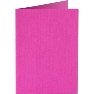 Bright Pink - Papicolor A6 Folded Cards 50/Pkg