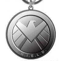 Avengers S.H.I.E.L.D Pewter Key Ring - Multi