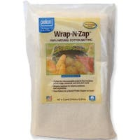 "Wrap-N-Zap 100% Natural Cotton Batting-45""X36"""