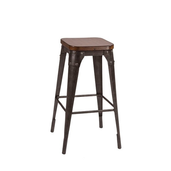 Shop Hillsdale Furniture 5733 832 Morris 24 Inch Wide Wood Bar Stool