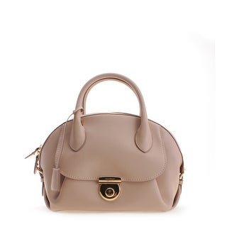 Salvatore Ferragamo Ginny Leather Tote Handbag - Tan - M