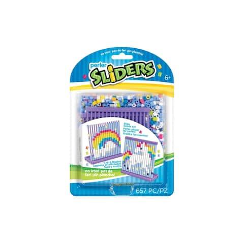 Perler Slider Bead Kit Rainbow Unicorn - Medium