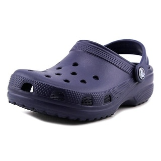 Crocs Classic Round Toe Synthetic Clogs