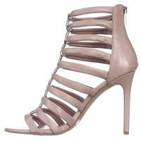 Vince Camuto Womens Troy Leather Open Toe Special Occasion Strappy Sandals
