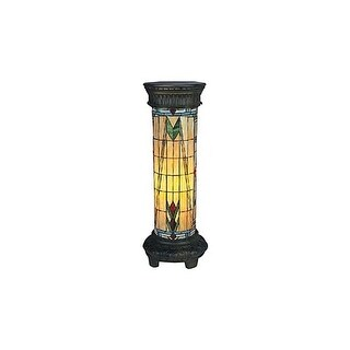 Landmark Lighting 660/30-SQ Tiffany Single Light Up Lighting Floor Lamp from the Sedona Collection