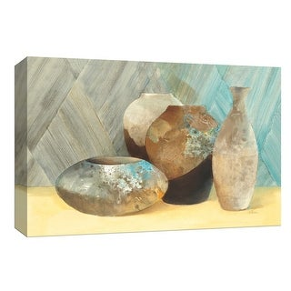 "PTM Images 9-153697  PTM Canvas Collection 8"" x 10"" - ""Raku Study III"" Giclee Patterns and Designs Art Print on Canvas"