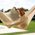 Sunnydaze Natural Colored Mayan Hammock - Sizes Options Available - Thumbnail 5