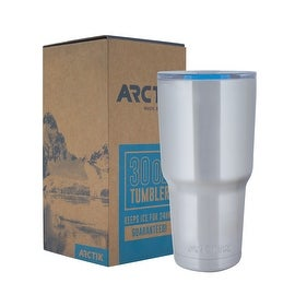 Driftsun Arctik Series 30oz Stainless Steel Tumbler with Splash Proof Lid - Double Wall Vaccum Insulated Tumbler