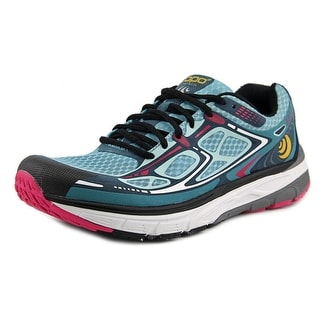 Topo Athletic Magnifly Women Round Toe Synthetic Blue Tennis Shoe