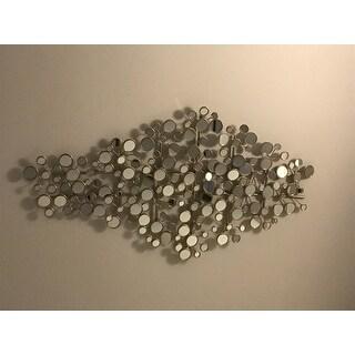 Harper Blvd Olivia Mirrored Metal Wall Sculpture