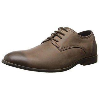 Joe's Mens Greg Leather Plain Toe Derby Shoes - 11 medium (d)