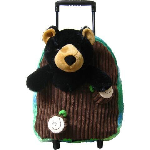 Kreative Kids Unisex Black Bear Plush Roller - One Size