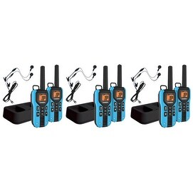 Uniden GMR4055-2CKHS (6-Pack) Two Way Radio with Power Boost Key