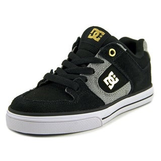 DC Shoes Pure XE   Round Toe Suede  Skate Shoe