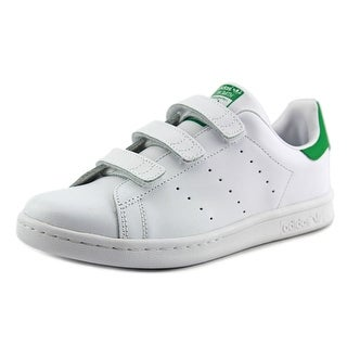 Adidas Stan Smith CF C Round Toe Leather Sneakers