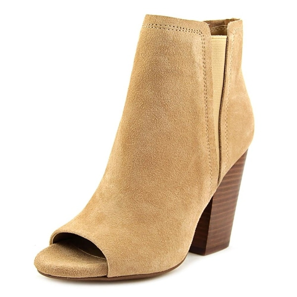 Splendid Kendyll Women Open-Toe Suede Ankle Boot