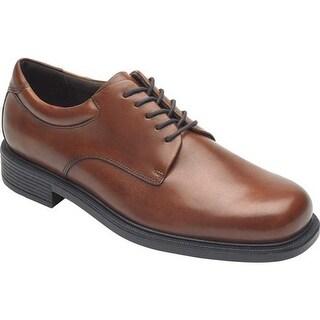 Rockport Men's Margin Oxford New Brown Leather