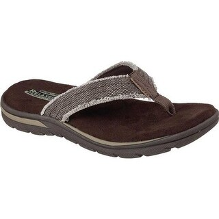Skechers Men's Relaxed Fit Supreme Bosnia Chocolate