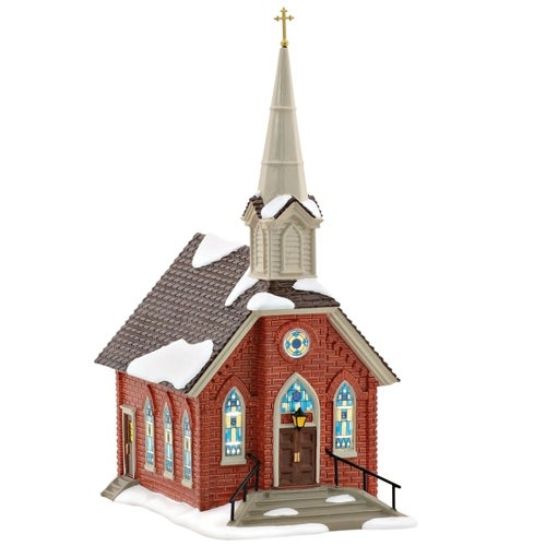 Dept 56 Snow Village Old St John's Church 4054776 Special Edition 2016