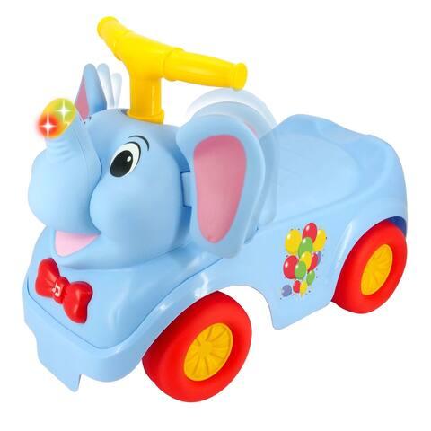Kiddieland Lights 'N' Sounds Elephant Ride-On