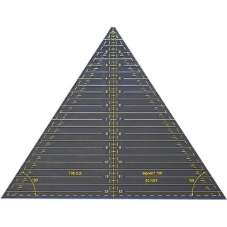 """Reverse-A-Rule Triangle-60 Degrees 12.5"""""""