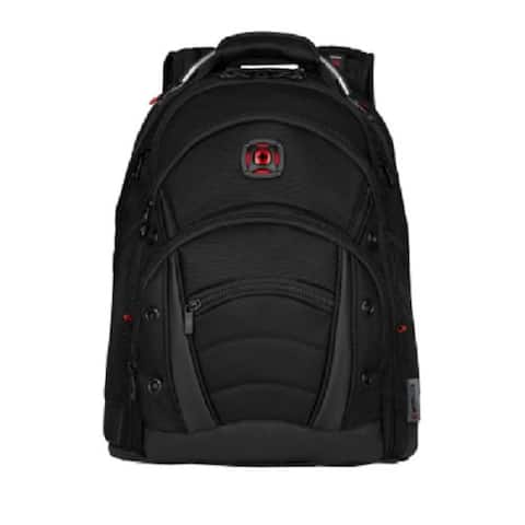 Swiss Gear Wenger Synergy Ballistic 16-Inch Laptop Backpack (Black)