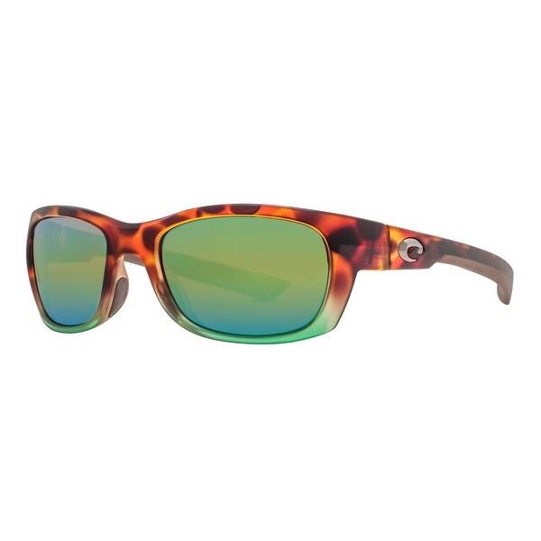 91ffa84bce3 Costa Del Mar Trevally GT77OGMP Matte Tortuga Fade 580P Green Mirror  Sunglasses - matte tortuga fade