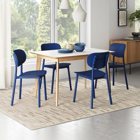Carson Carrington Riccio Modern Side Chair (Set of 4)