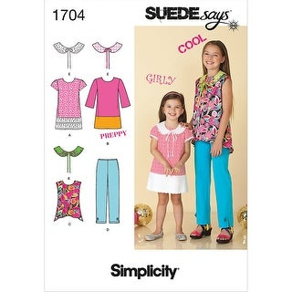 Simplicity Child Girl Sportswear-3-4-5-6 - 3-4-5-6