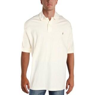 Polo Ralph Lauren Mens Big & Tall Polo Shirt Classis Fit Short Sleeves - 4xb