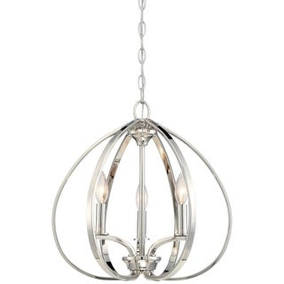 Minka Lavery 4982-613 3 Light One Tier Mini Chandelier from the Tilbury Collection