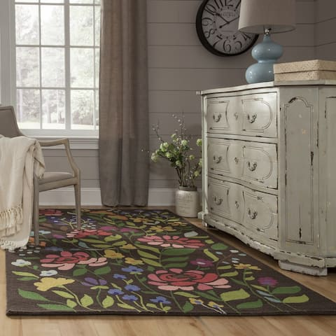 Momeni Newport Hand Tufted Wool Floral Area Rug