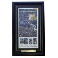 Philadelphia Eagles Framed Feb 9 2018 Super Bowl 52 LII Parade Inquirer Cover