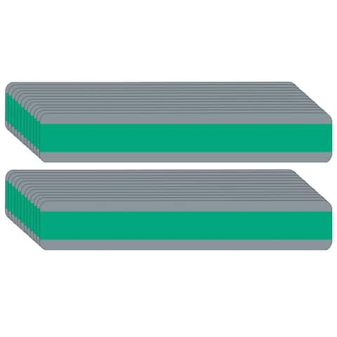 """Double Wide Sentence Strip Reading Guide, 1.25"""" x 7.25"""", Green, Pack of 24 - One Size"""