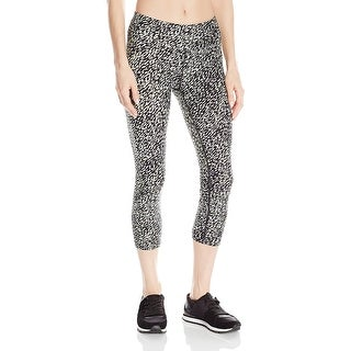 Calvin Klein Performance Quick Dry Printed Capri Leggings - S