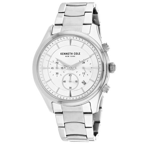 Kenneth Cole Men's Classic Silver Dial Watch - KC50946001 - One Size